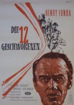 Filmposter Die Zwölf Geschworenen