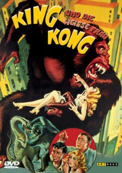 DVD-Cover King Kong und die weiße Frau