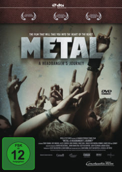 DVD-Cover Metal - A Headbanger's Journey