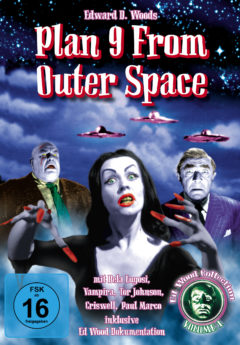 DVD-Cover Plan 9 From Outer Space