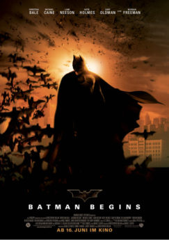 Filmposter Batman Begins