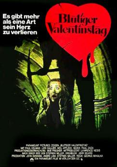 Filmposter Blutiger Valentinstag