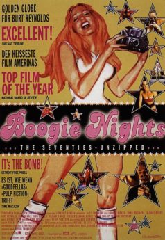 "Filmposter ""Boogie Nights"" Retro-Style"