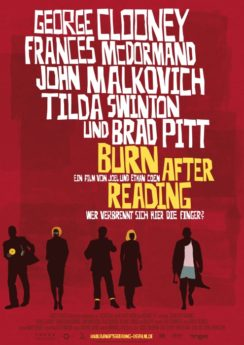 Filmposter Burn After Reading