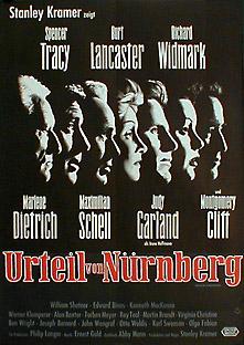 Filmposter Das Urteil von Nürnberg