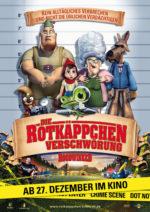 Filmposter Die Rotkäppchen-Verschwörung