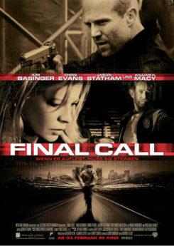 Filmposter Final Call - Wenn er auflegt, muss sie sterben