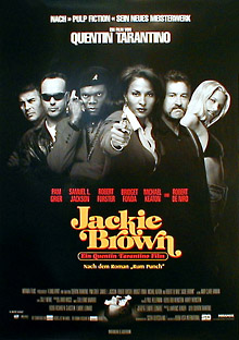 Filmposter Jackie Brown