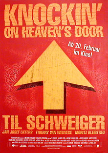 Filmposter Knockin' On Heaven's Door