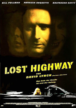 Filmposter Lost Highway