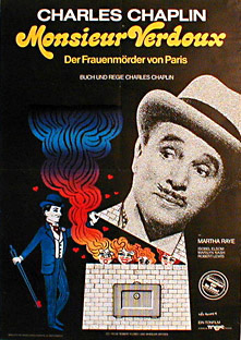 Filmposter Monsieur Verdoux