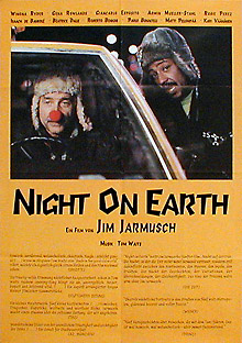 Filmposter Night on Earth