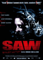 Filmposter Saw
