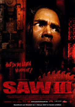 Filmposter Saw III