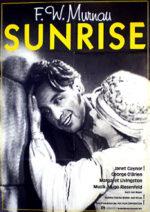Filmposter Sonnenaufgang - Lied von zwei Menschen