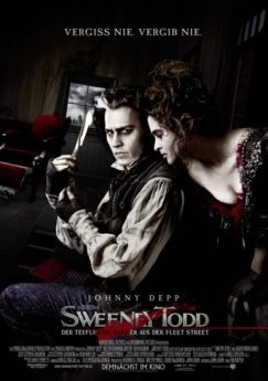 Filmposter Sweeney Todd