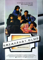 Filmposter The Breakfast Club