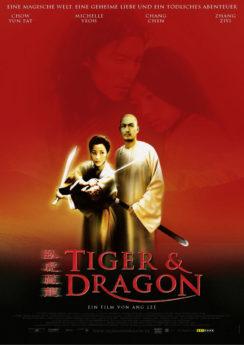 Filmposter Tiger & Dragon