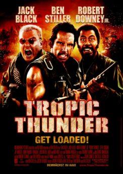 Filmposter Tropic Thunder