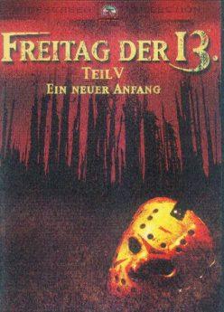 DVD-Cover Freitag der 13. – Ein neuer Anfang