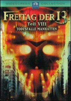 DVD-Cover Freitag der 13. VIII