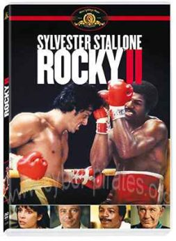 DVD-Cover Rocky II