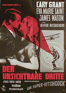 Filmposter Der unsichtbare Dritte