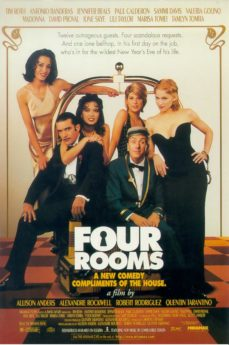 Filmposter Four Rooms