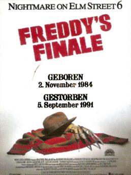 Filmposter Freddy's Finale - Nightmare on Elm Street 6