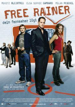 Filmposter Free Rainer - Dein Fernseher lügt