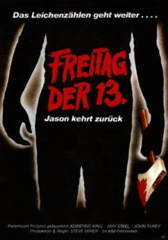 Filmposter Freitag der 13. Teil II - Jason kehrt zurück