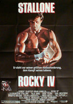 Filmposter Rocky IV