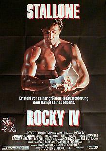 Filmposter Rocky IV