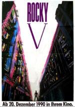 Filmposter Rocky V