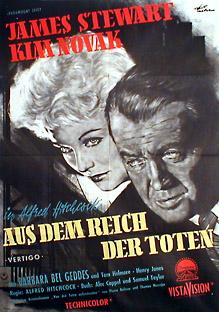 Filmposter Vertigo - Aus dem Reich der Toten