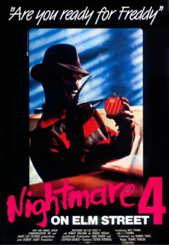 Filmposter Nightmare on Elm Street 4