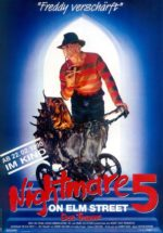 Filmposter Nightmare on Elm Street 5 - Das Trauma