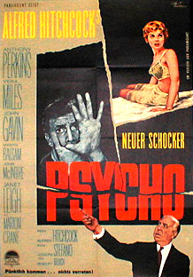 Filmposter Psycho
