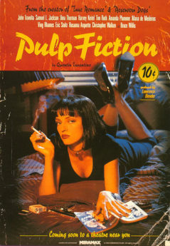 Filmposter Pulp Fiction