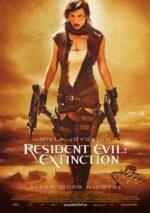 Filmposter Resident Evil: Extinction