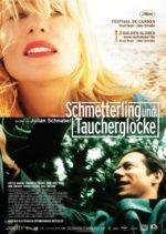 Filmposter Schmetterling und Taucherglocke