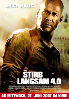 Filmposter Stirb Langsam 4.0