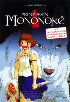 Filmposter Prinzessin Mononoke