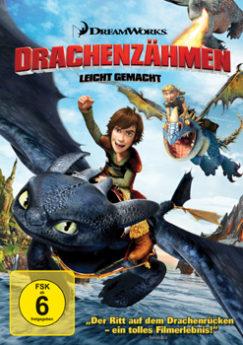 DVD-Cover Drachenzähmen leicht gemacht