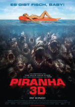 Filmposter Piranha 3D