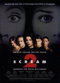 Filmposter Scream 2