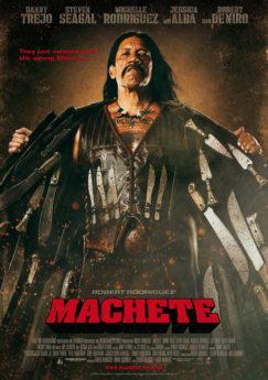 Filmposter Machete