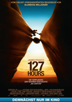 Filmposter 127 Hours