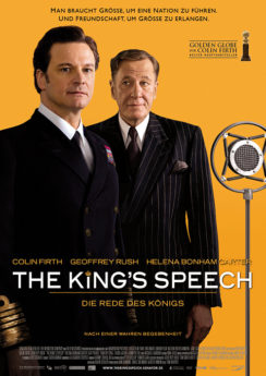 Filmposter The King's Speech
