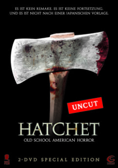 DVD-Cover Hatchet